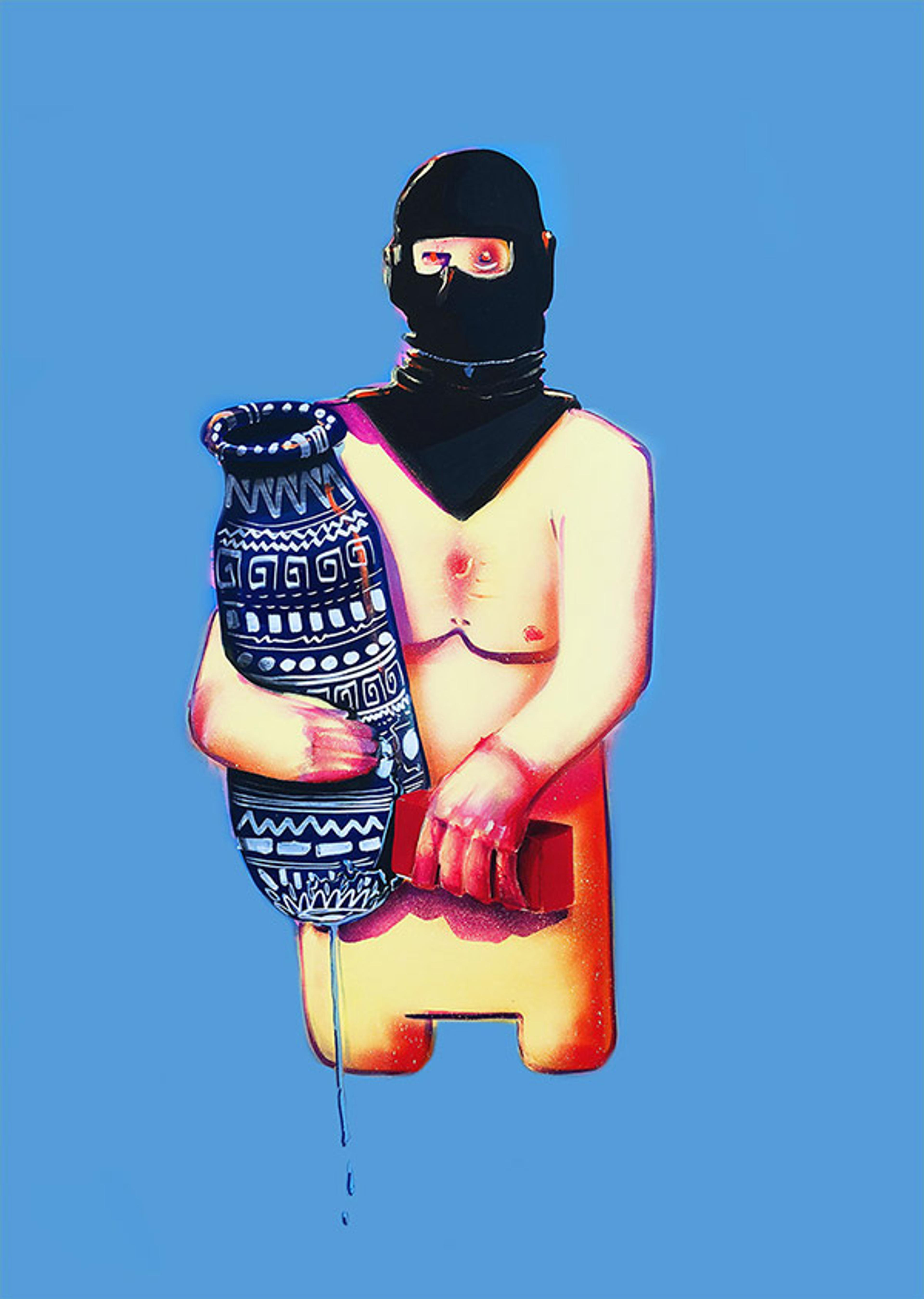 artwork The Protester by IPMC