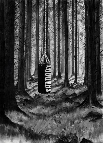 Artwork Shadows by Christine Brey