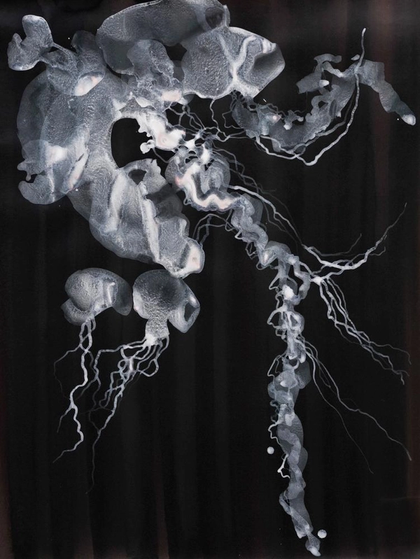 Artwork Selene Medusa II by Magda Krawcewicz