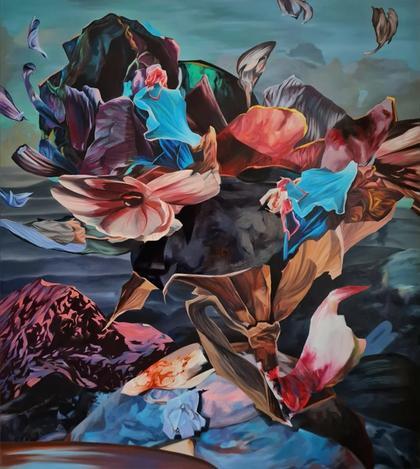 Artwork It floats by Philippa Brück