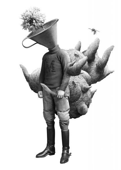 Artwork Das Wespennest by Steve Braun