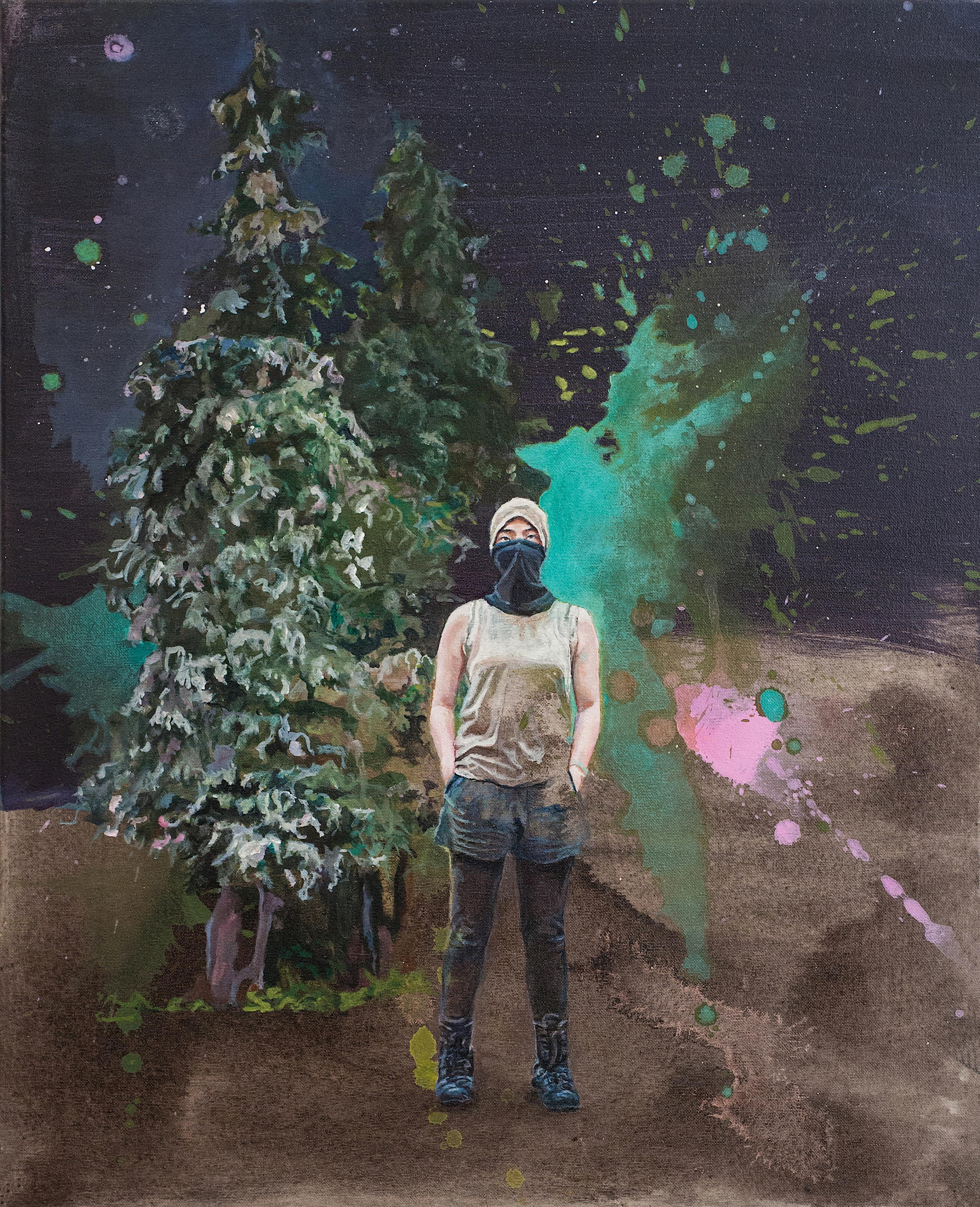 artwork Försterin by Birgit Klerch
