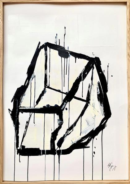 Artwork White Cube by Anabelle von Georg