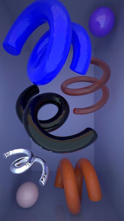 Artwork Zero Gravity by Ju Schnee