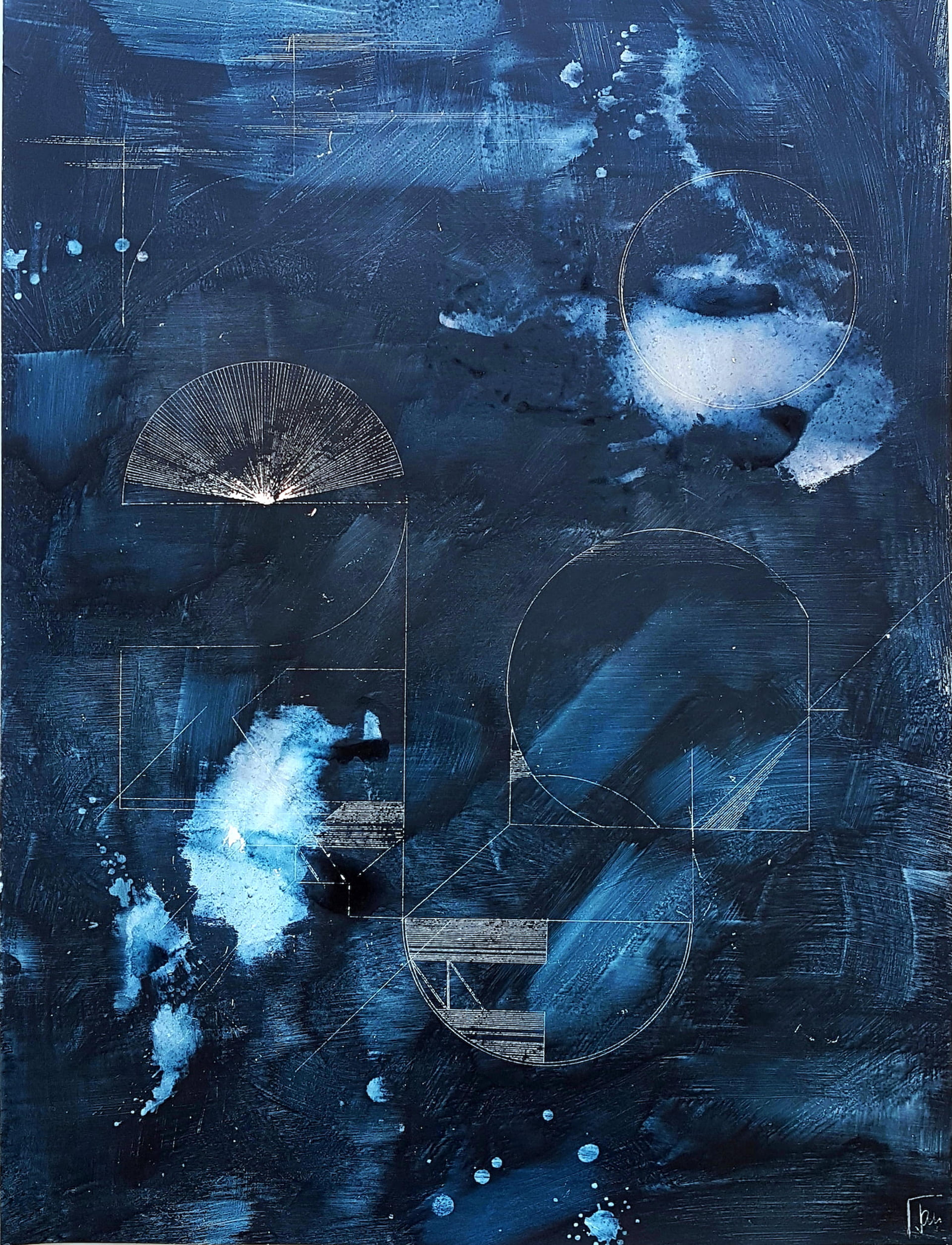 artwork Nightwalk 2 by Jana Schumacher