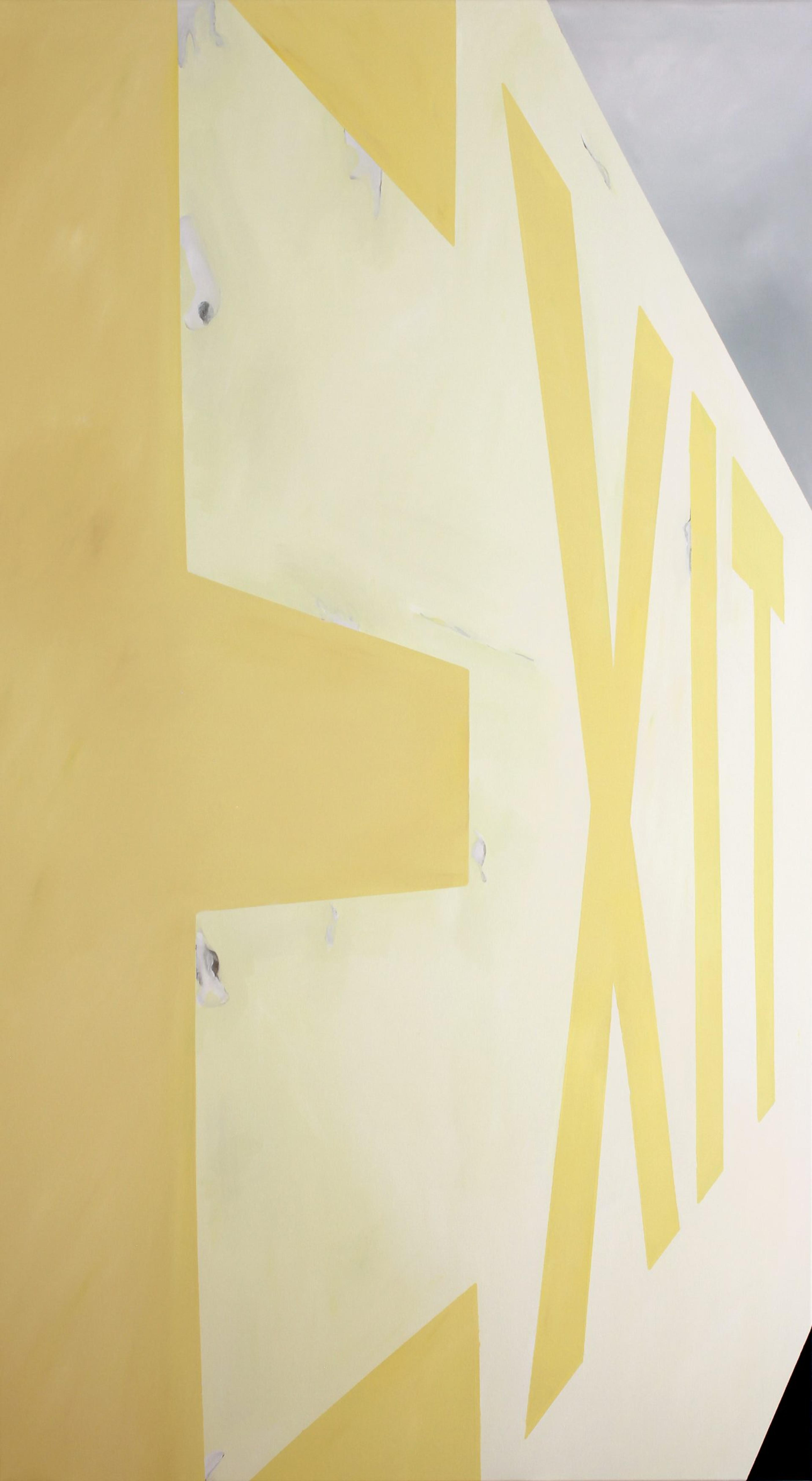 artwork EXIT wall by Joana Lucas