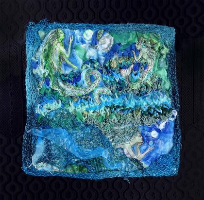 Artwork Meerjungfrauen by Eva Lippert