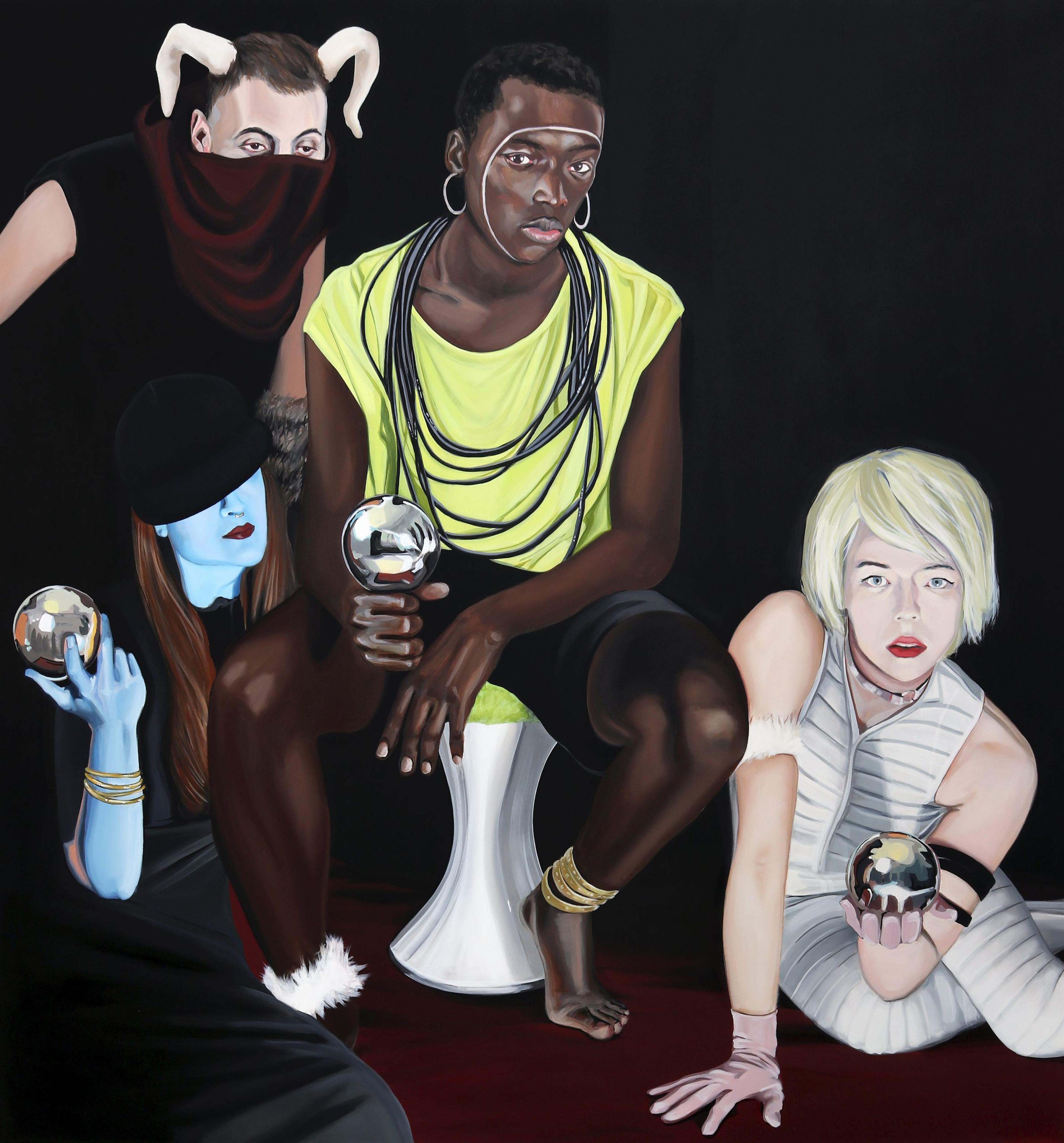 artwork Deities by Joana Lucas