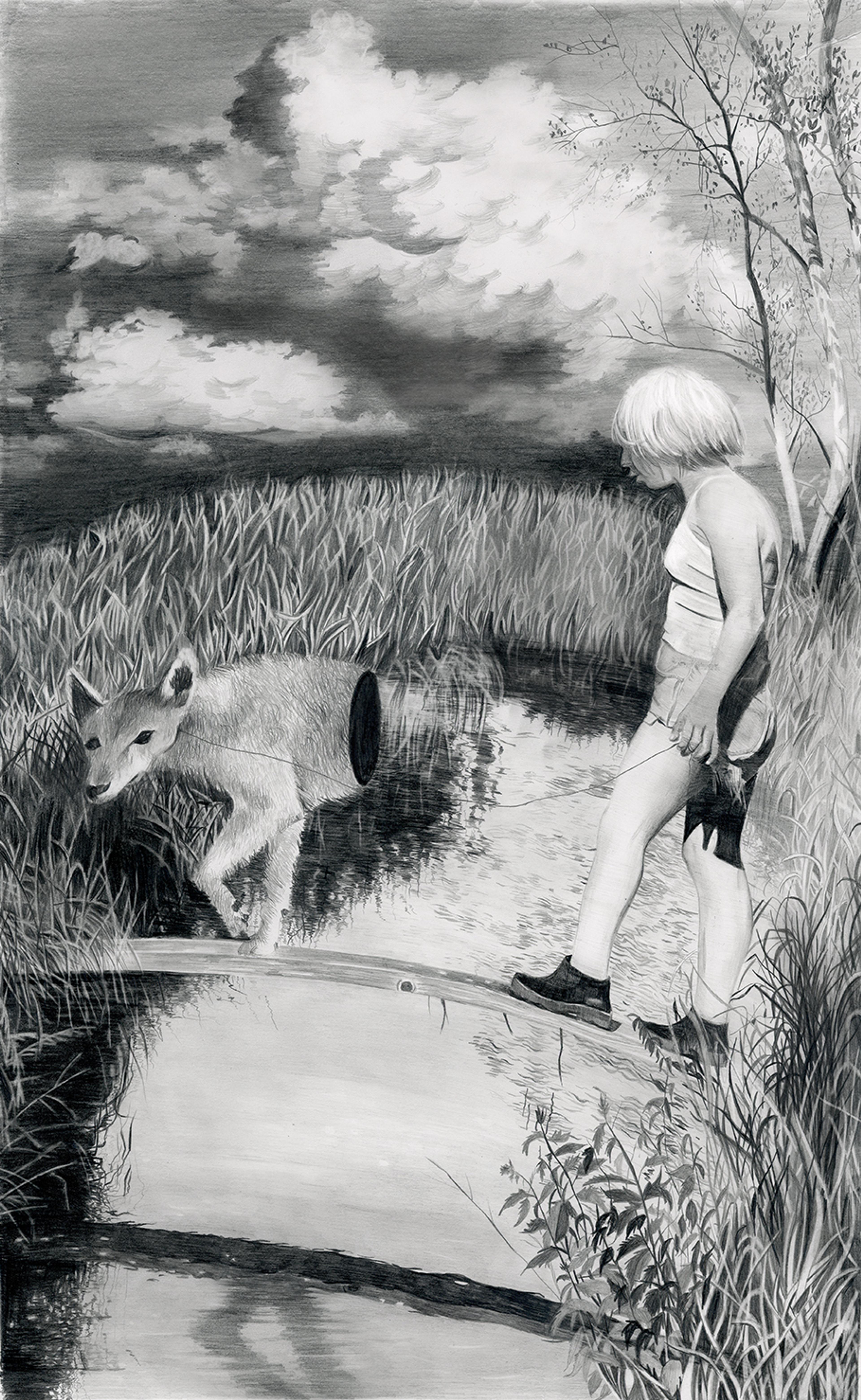 artwork Halbwasser by Christine Brey