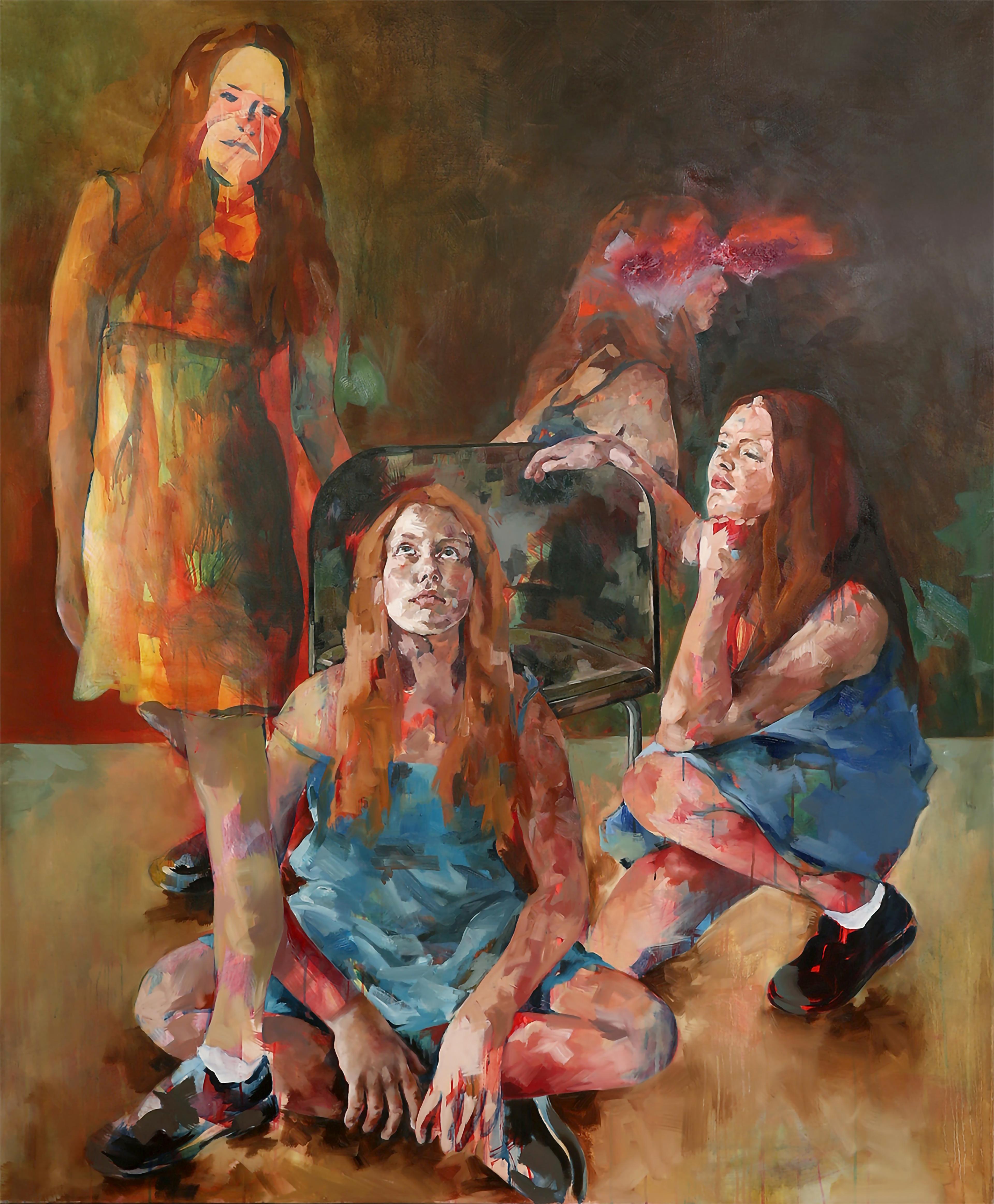 artwork Die vier Emmas by Claudia Mächler