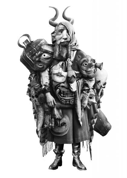 Artwork Der Maskenhändler by Steve Braun