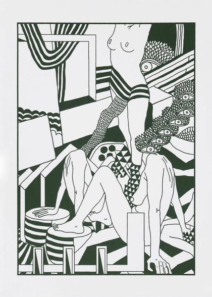Artwork Untitled by Gidi Gilam