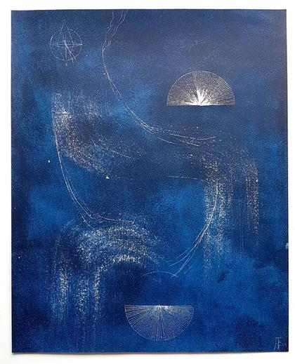 Artwork Nightwalk 4 by Jana Schumacher