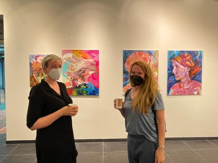 Claudia Mächler, MeetFrida Pop-Up Gallery Hanseviertel Hamburg