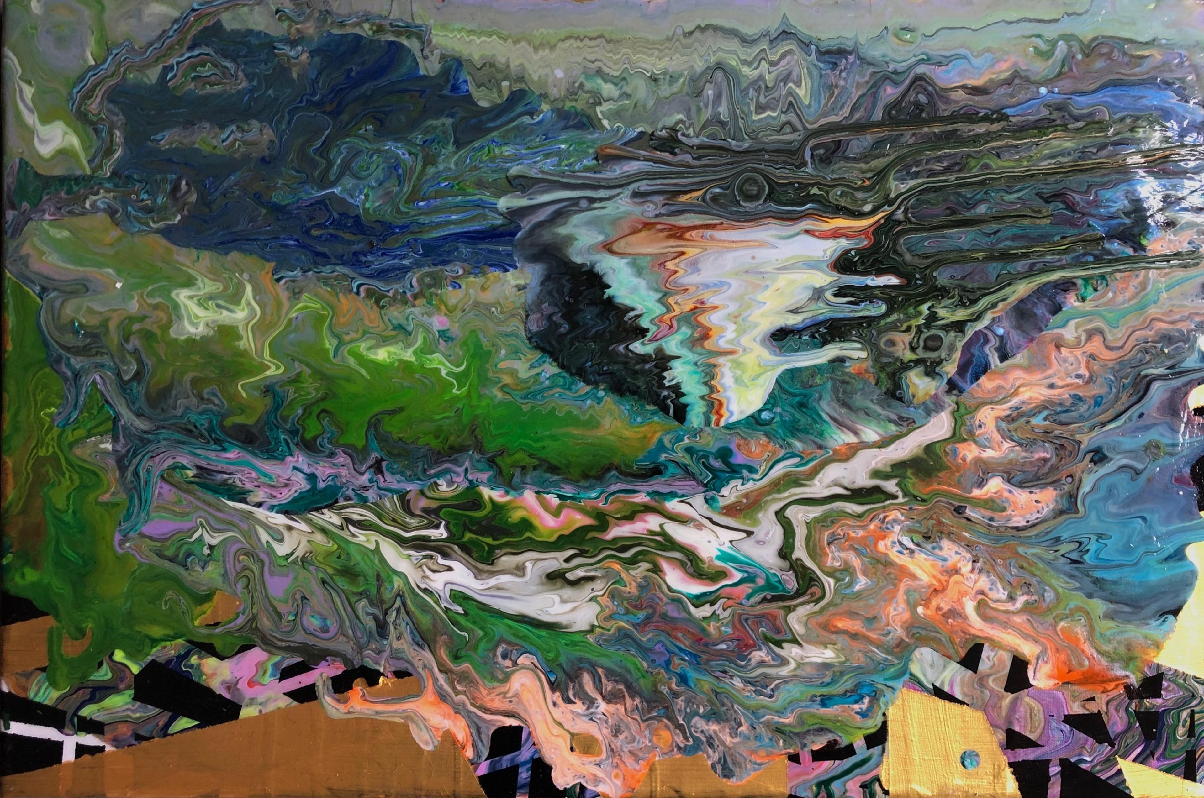 artwork escape from this brain by Lecker und Heiß GbR
