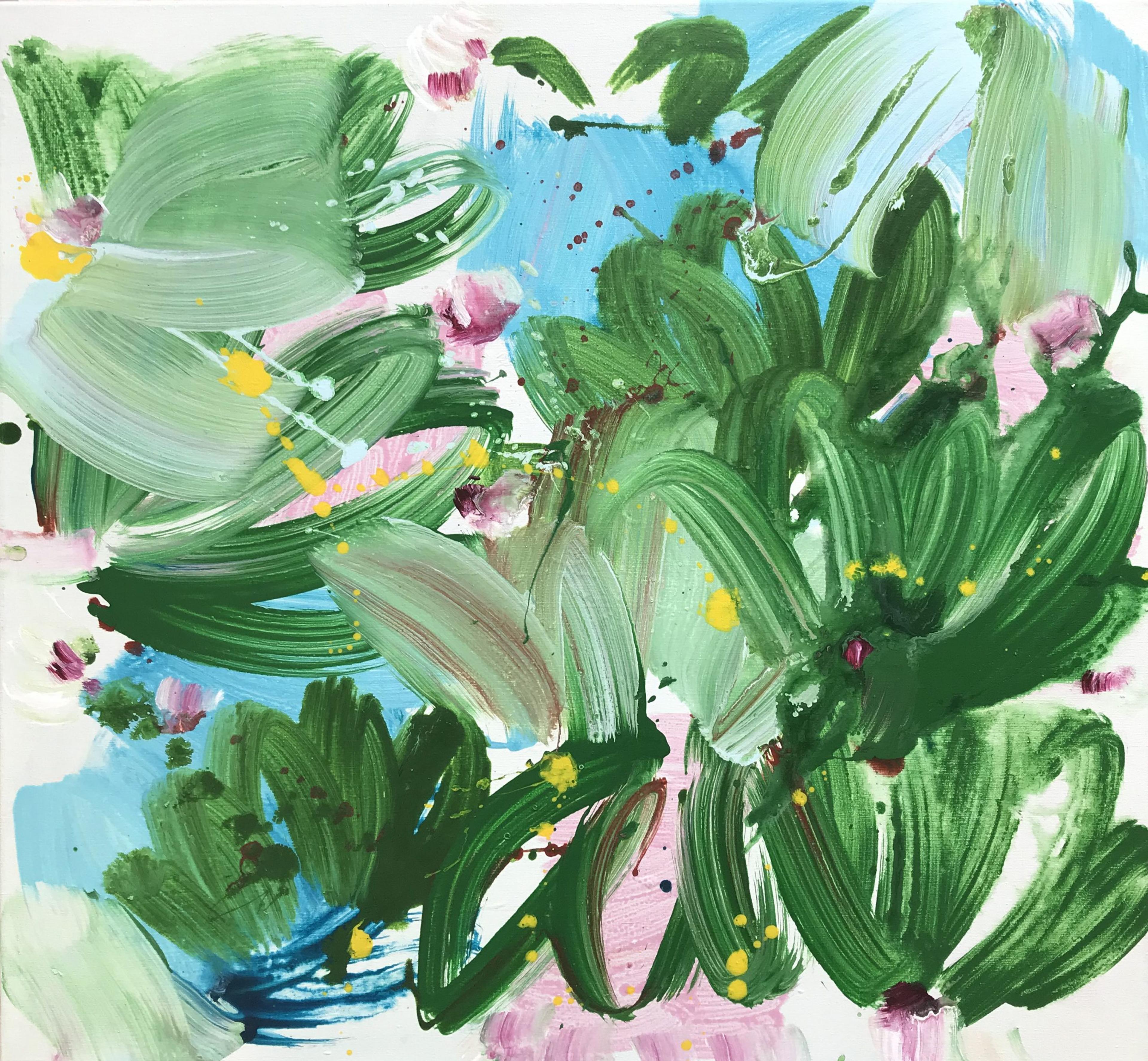 artwork Blau Grün by Miye Lee