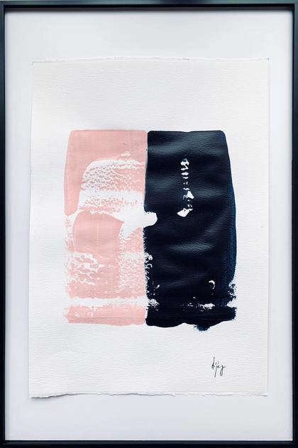Artwork Half Rosé by Anabelle von Georg