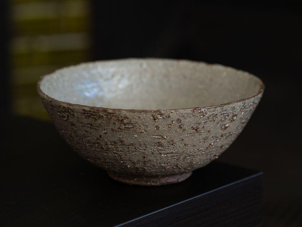 Green bowl exterior