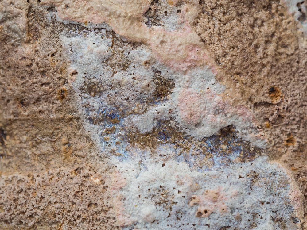 Close up of glaze