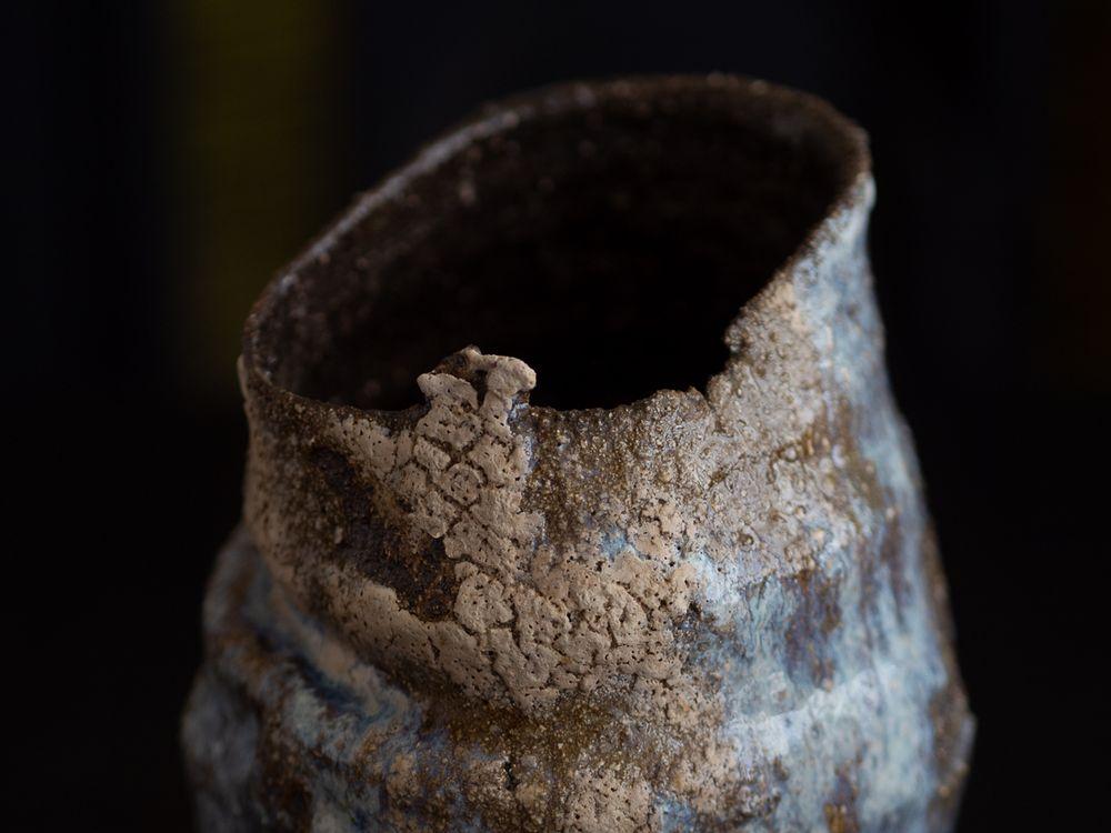 Detail of glaze