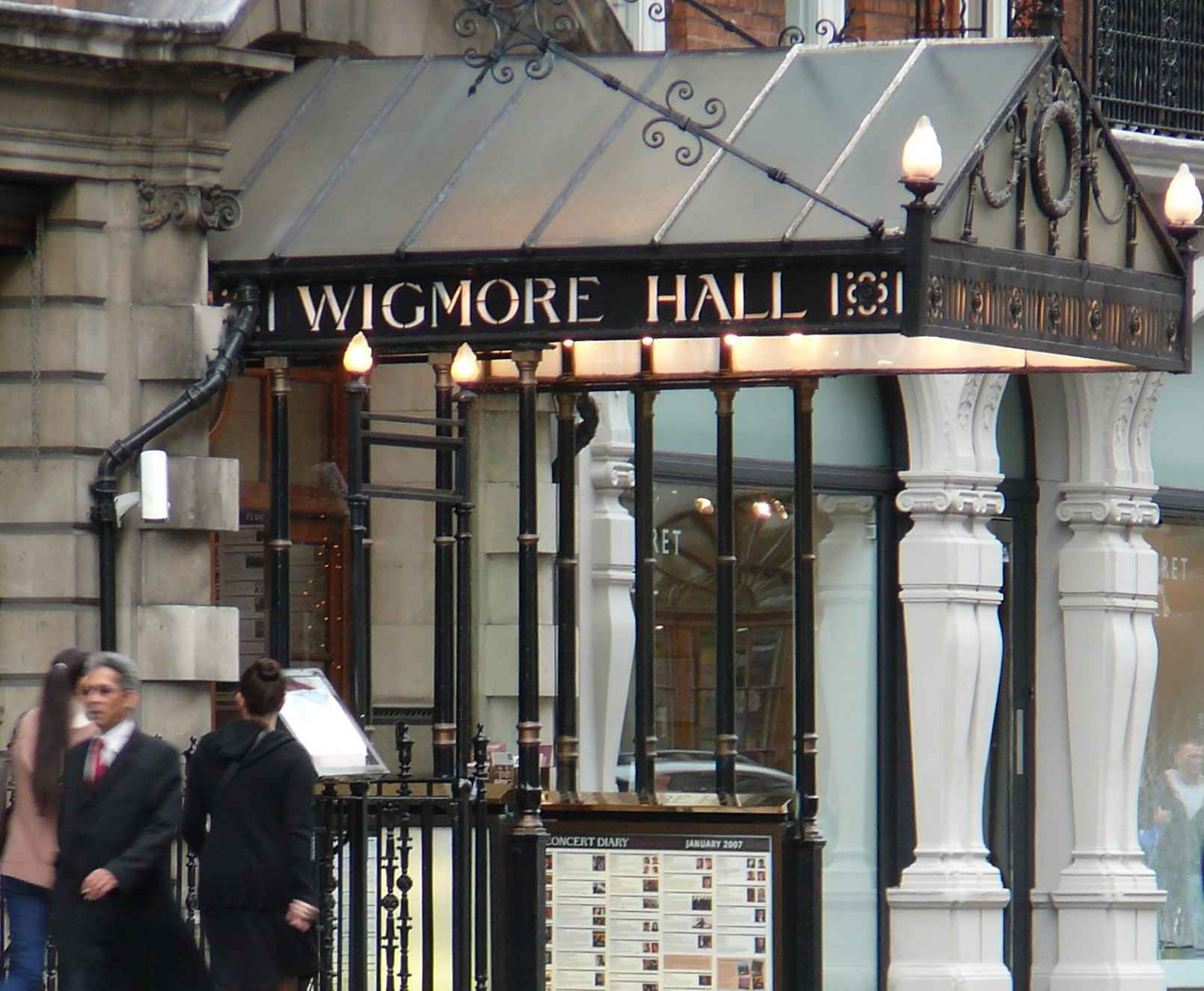 London's famous Wigmore Hall will be the venue for Irish Heritage's Auditions Day on 10th November
