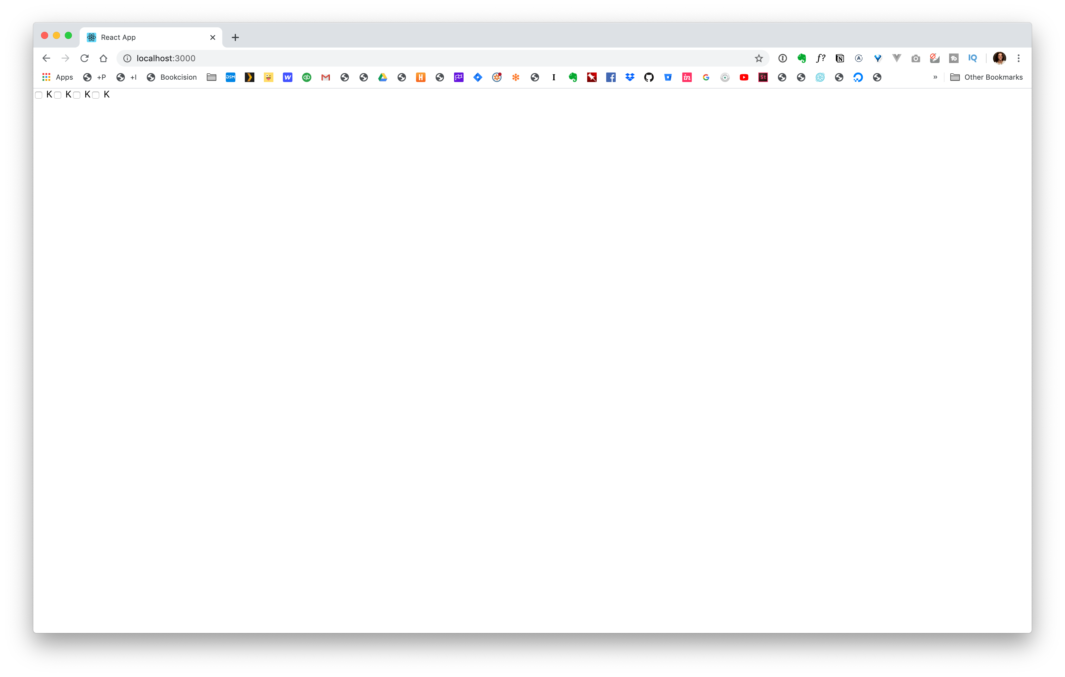 Checkboxes in the Browser