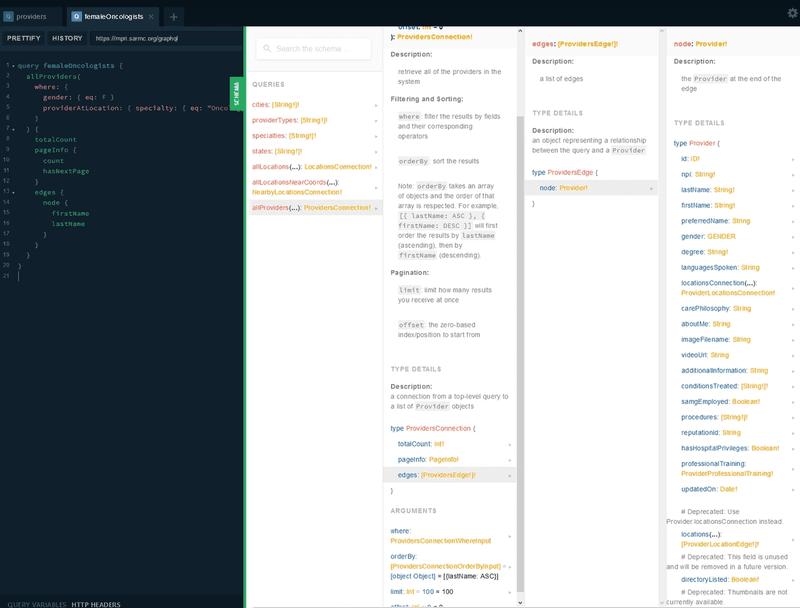 Master Provider Index API