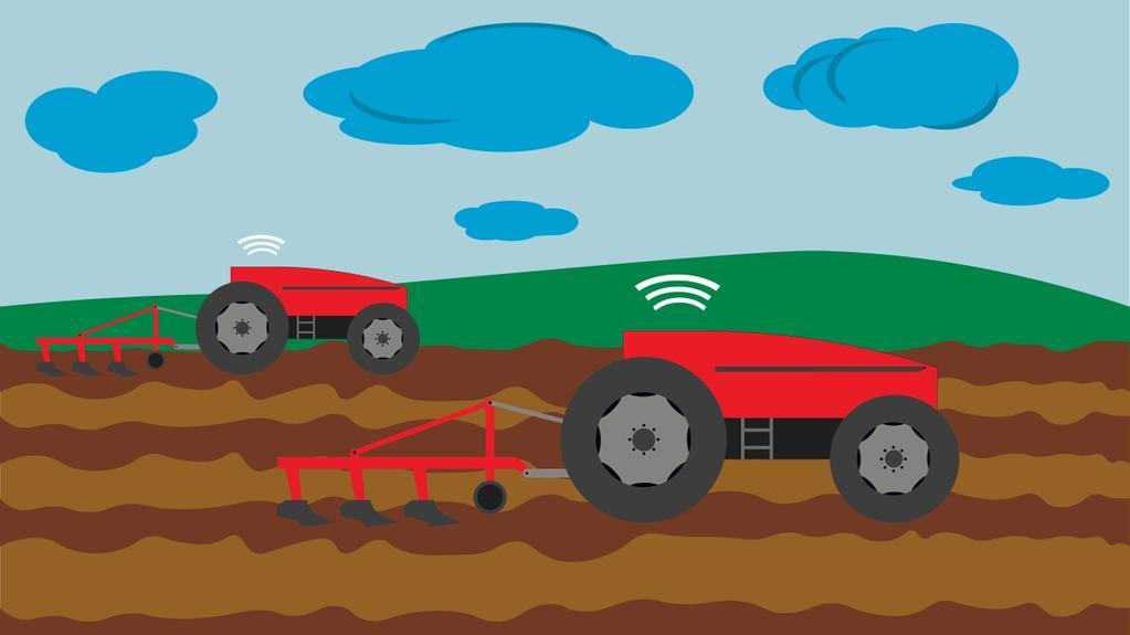Activités agricoles sans chauffeur de tracteur, est-ce possible?