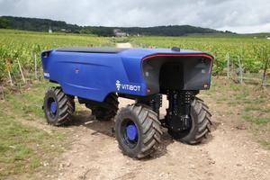Vitibot vineyard robot
