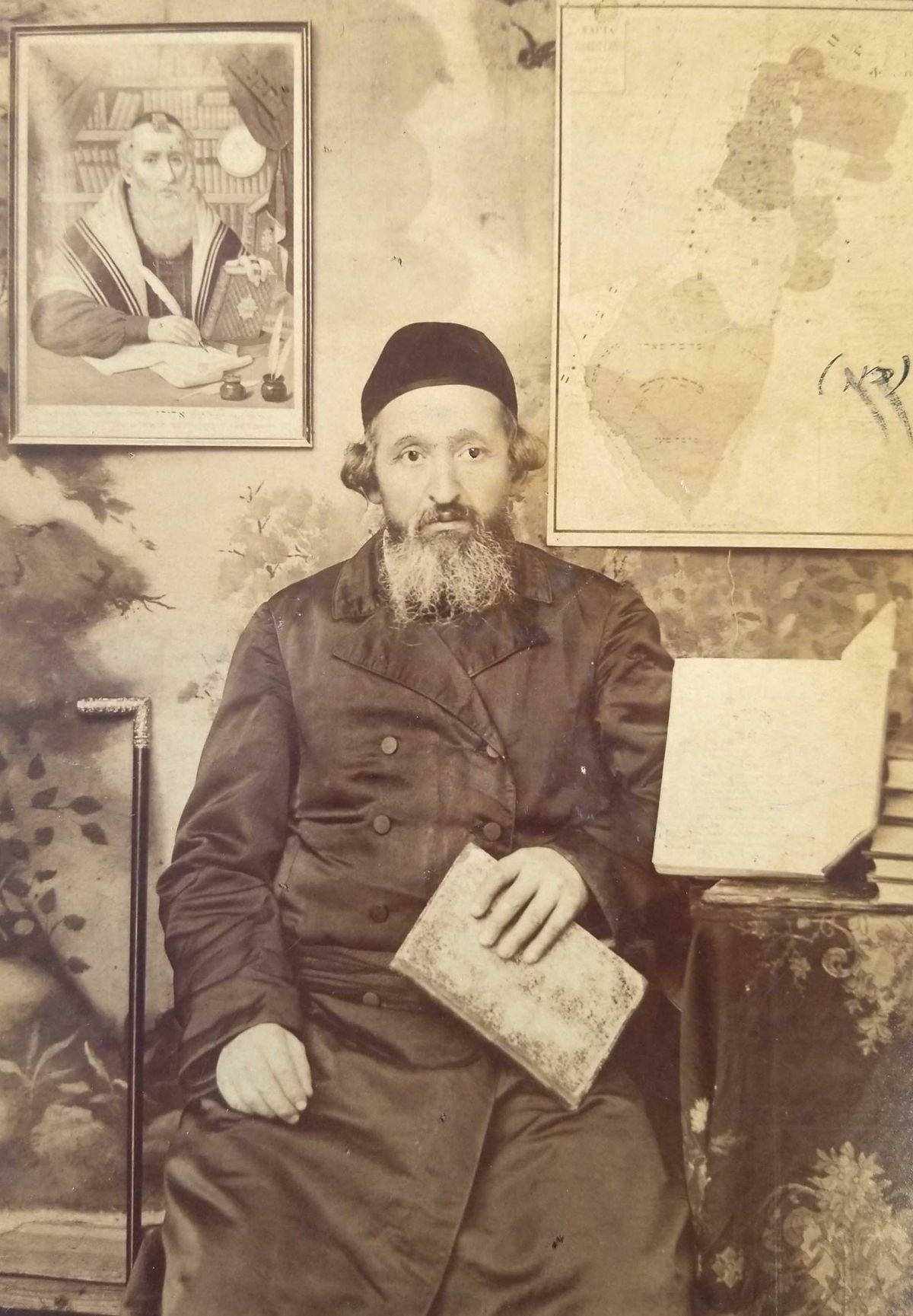 My Great-Grandfather, Rabbi Tzvi Hirsch Lamport, Author of 'Piskei ha-Gra'