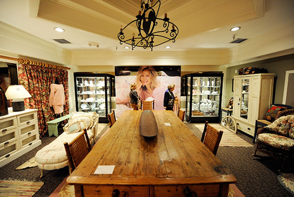 Barbra Streisand S Private Mall Gets A New Shopkeeper In Buyer And Cellar Tablet Magazine,Michelangelo David Head Sculpture