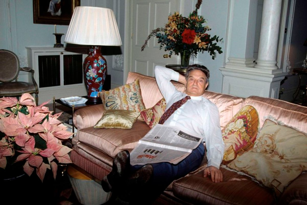George Soros - Politics of a Jewish Billionaire