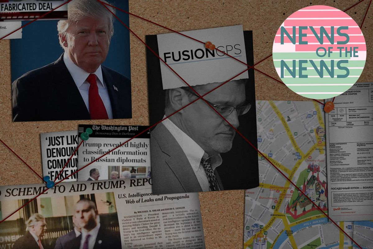 How Glenn Simpson Caught the American Press in a Conspiracy Theory