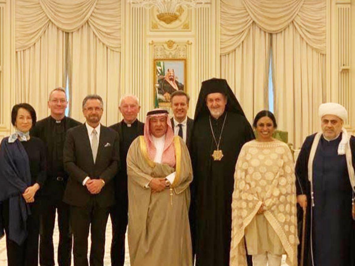 A Rabbi in Riyadh