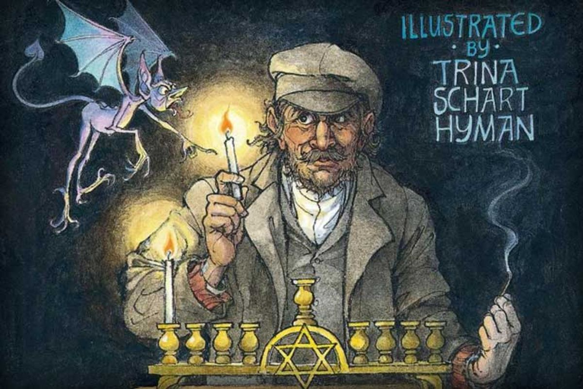 Bookworm: 'Hershel and the Hanukkah Goblins' Is the True Story of Hanukkah  - Tablet Magazine