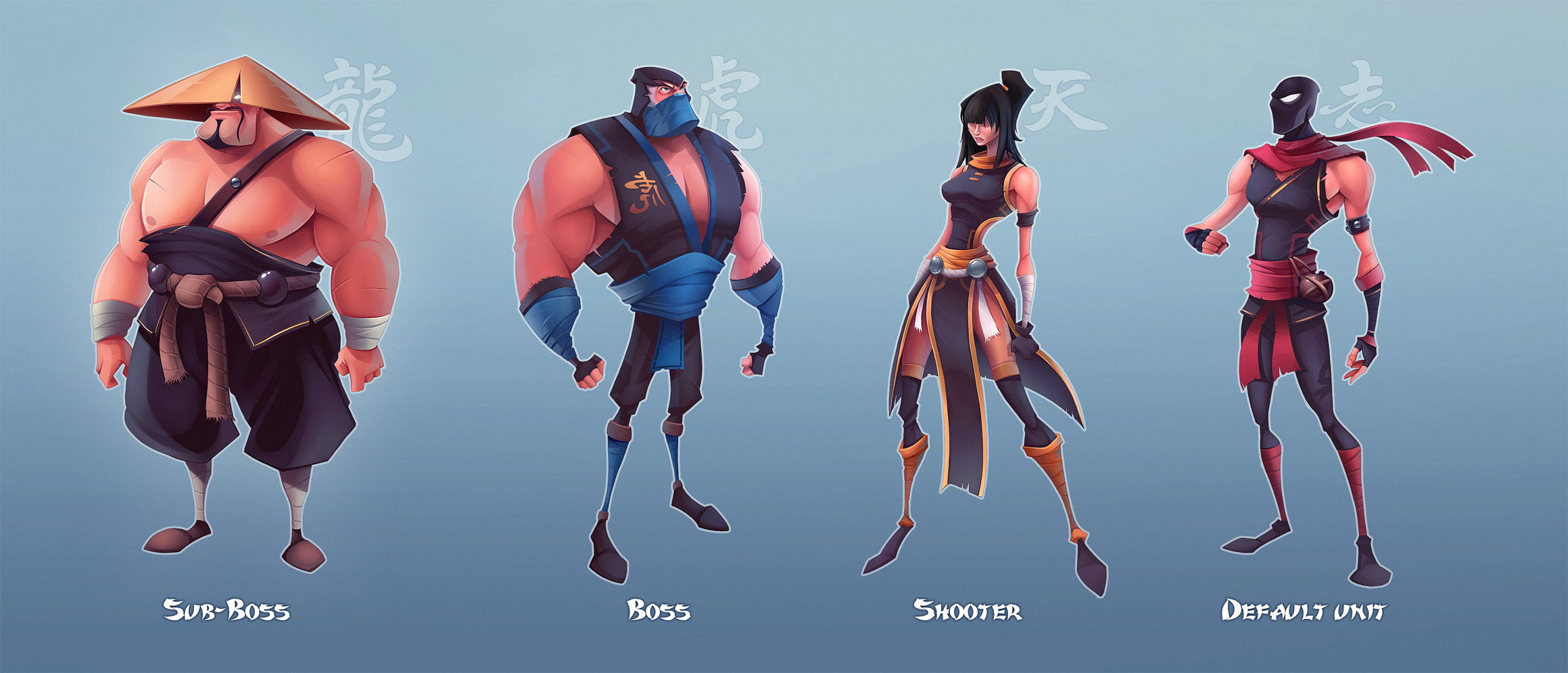 characters of Fatal Fight