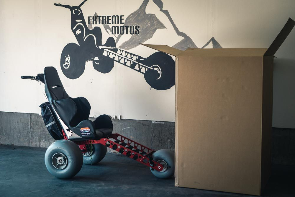 Unboxing the Emma X3 All Terrain Wheelchair