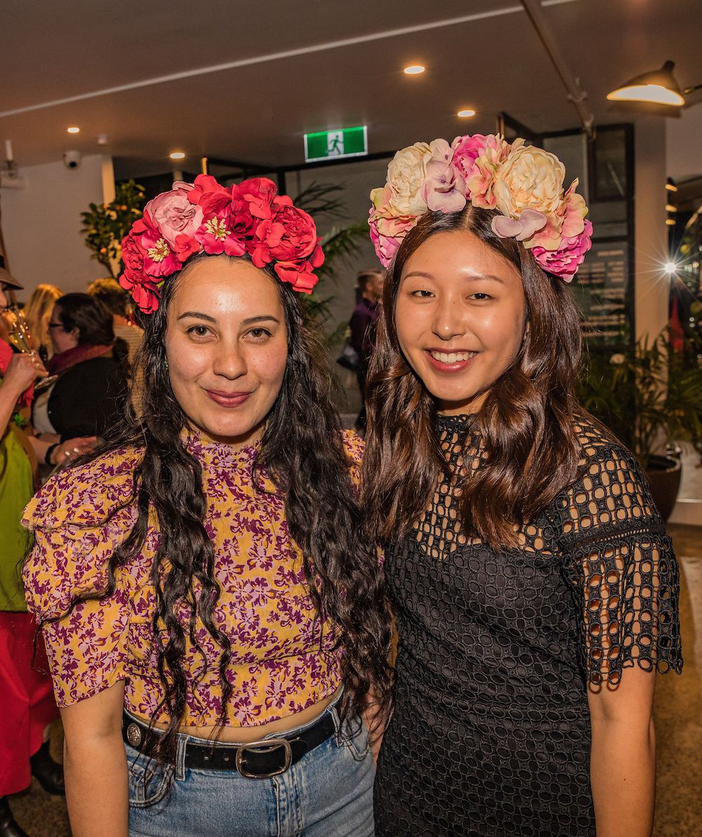 Bared_Footwear_Milliners_In_Manchester_Lane_Melbourne_CBD_Event_K_Is_For_Kani_Floral_Head_Pieces