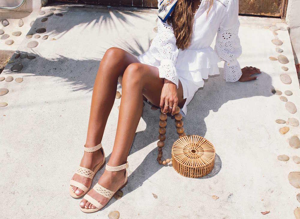 Bared_Footwear_Womens_Linnet_Cream_Sandals_Cult_Gaia_Bag_LA_Shoot