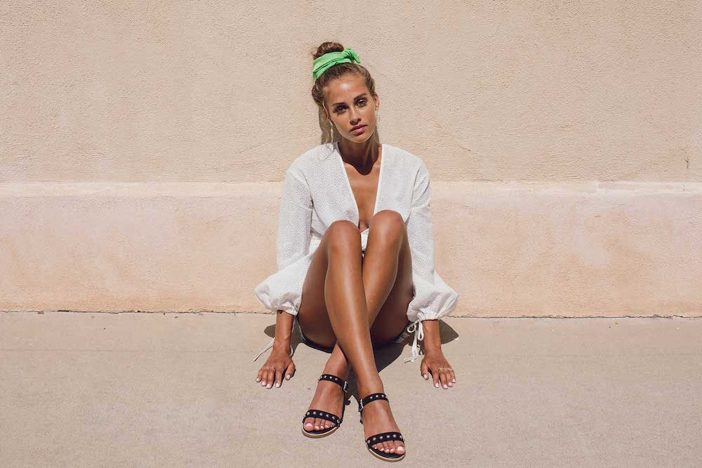 Bared_Footwear_Womens_Lyrebird_Black_Gold_Studded_Sandals_LA_Summer