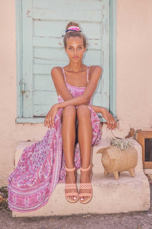 Bared_Footwear_Womens_Linnet_Pink_Sandals_LA_Shoot