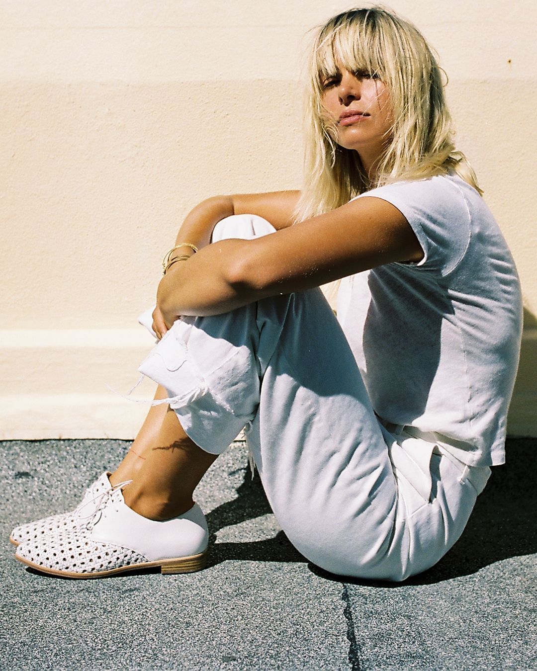 Bared_Footwear_Womens_Collaboration_Anna_Feller_White_Cockatoo_Woven_Lace_Ups_Sydney