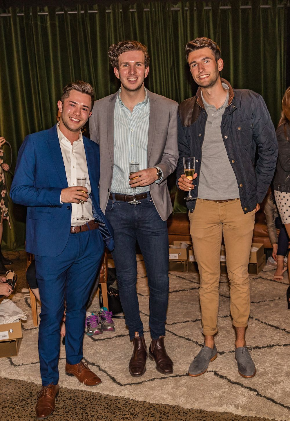 Bared_Footwear_Milliners_In_Manchester_Lane_Melbourne_CBD_Event_The_Boys