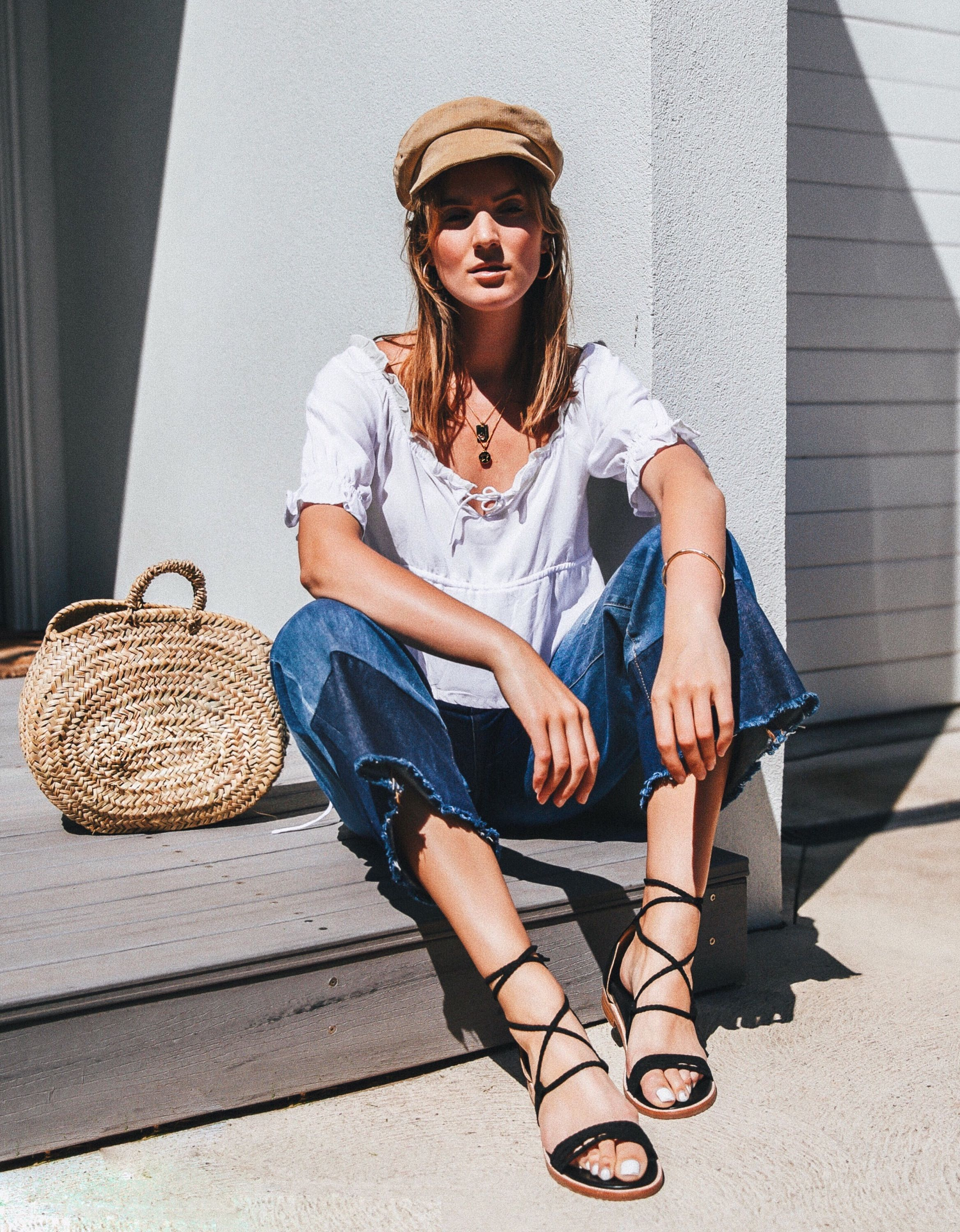 Bared_Footwear_Holly_Titheridge_Womens_Galah_Black_Leather_Lace_Up_Sandals