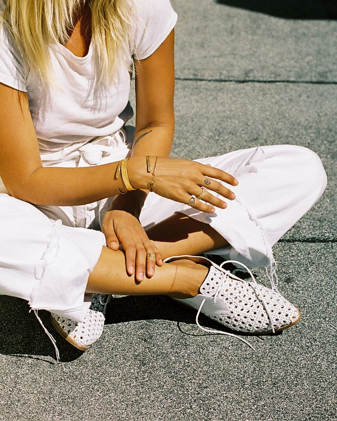 Bared_Footwear_Womens_Collaboration_Anna_Feller_White_Cockatoo_Woven_Lace_Ups_Australia