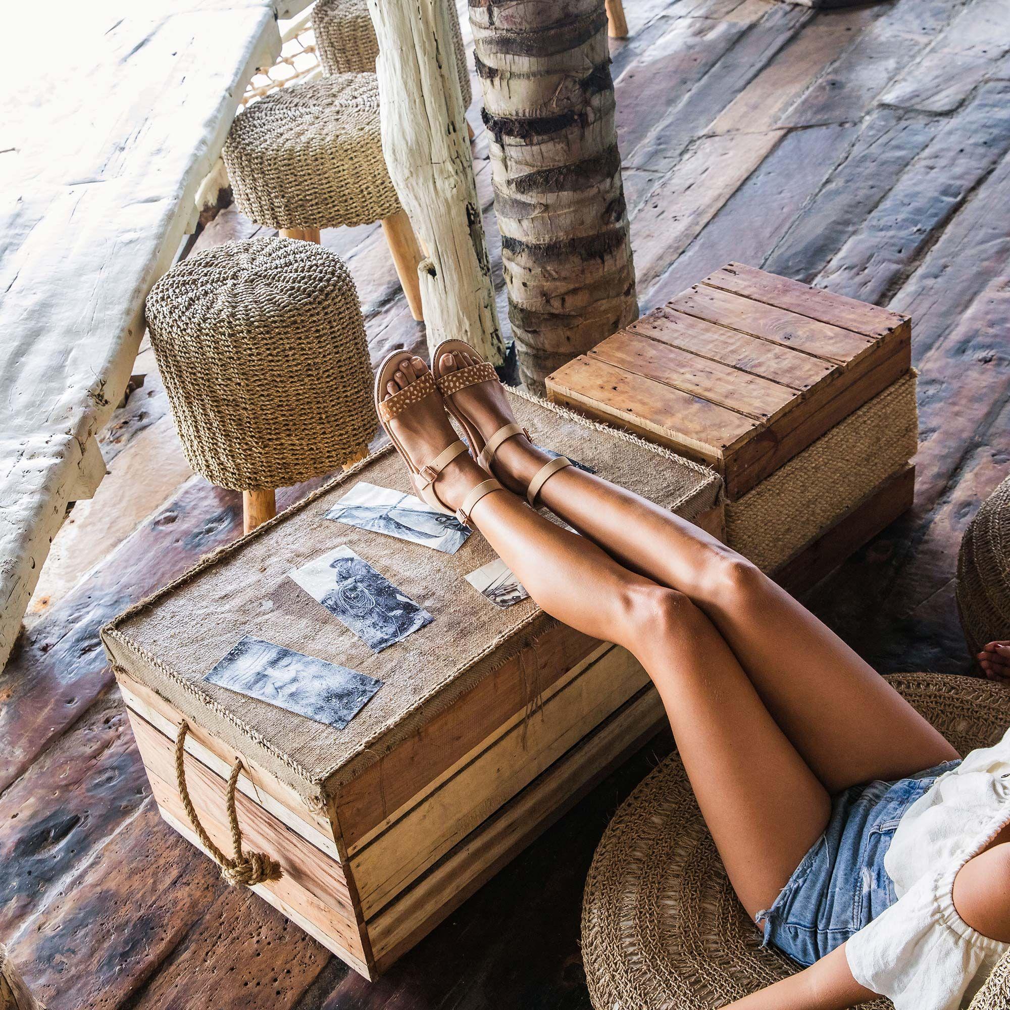 Bared_Footwear_La_Brisa_Bali_Travel_Summer_Womens_Campaign_Aracari_Deer_Print_Sandals_Up_Close