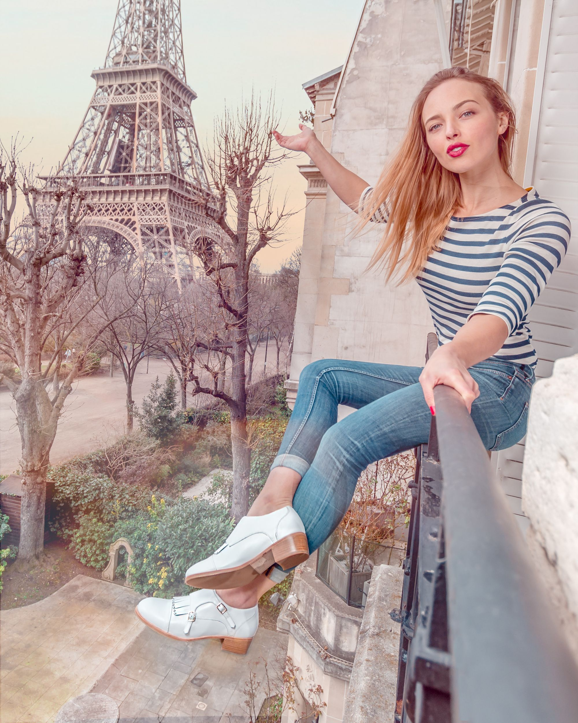 Bared_Footwear_Womens_Rooster_White_Double_Monks_Paris_Eiffel_Tower