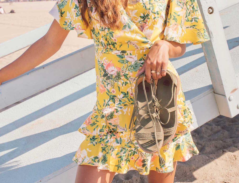 Bared_Footwear_Womens_Galah_Olive_Nubuck_Sandals_LA_Summer_Shoot