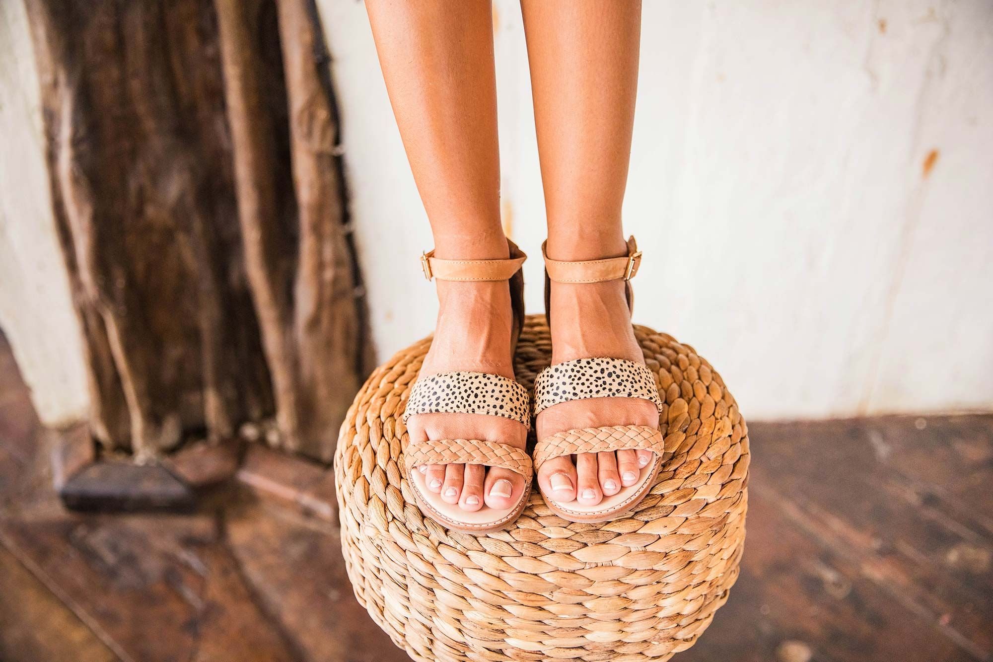Bared_Footwear_La_Brisa_Bali_Travel_Summer_Womens_Campaign_Partridge_Tan_Spot_Sandals_Close_Up