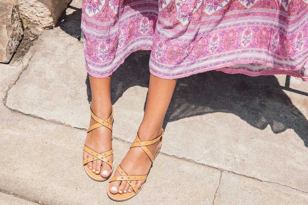 Bared_Footwear_Womens_Loon_Tan_Studded_Sandals_LA_Summer